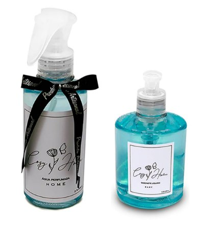 Kit - Água Perfumada Home + Sabonete Líquido Baby