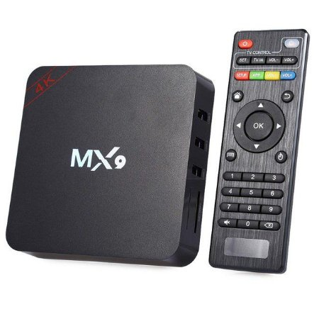 RECEPTOR GOOGLE TV BOX 4K ULTRA MX9 HEVC WIFI NETFLIX