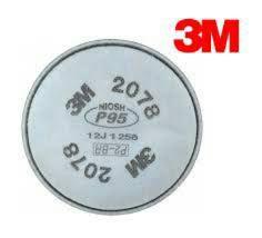FILTRO MECANICO 3M™ 2078-P2  (Embalagem com 2-Unidades)