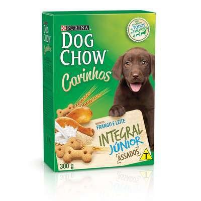 BISCOITO DOG CHOW INTEGRAL JUNIOR 300 GRAMAS
