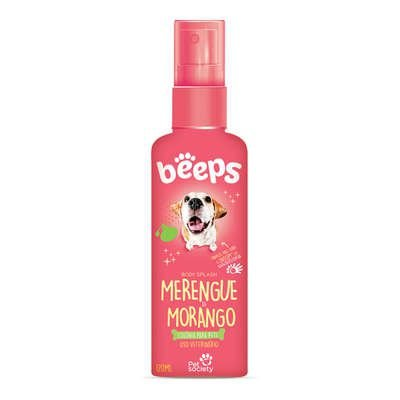 DEO COLÔNIA BEEPS BODY SPLASH MERENGUE MORANGO 120 ML