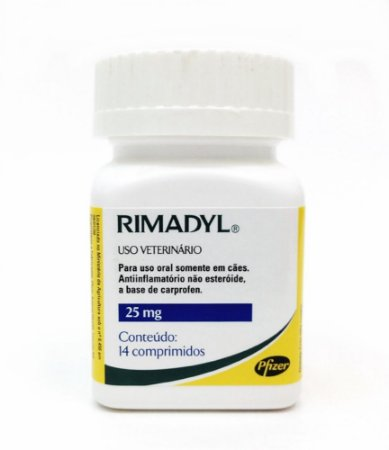 RIMADYL 25 MG C 14 COMPRIMIDOS