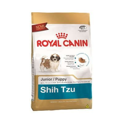 RAÇÃO ROYAL SHIH TZU JUNIOR 1 KG
