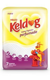 TAPETE HIGIENICO KELDOG PERFUMANDO C/ 7 UNIDADES