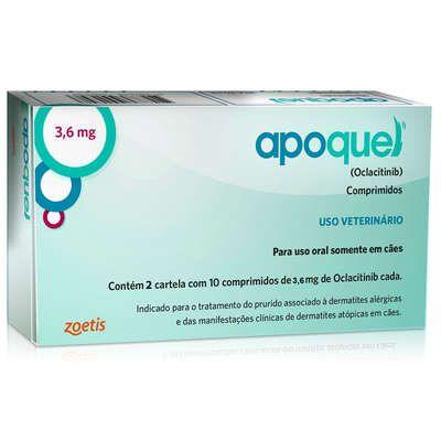 APOQUEL 3,6 MG C/ 20 COMPRIMIDOS