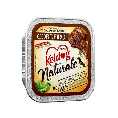 PATÊ KELDOG NATURALE CORDEIRO 100 G