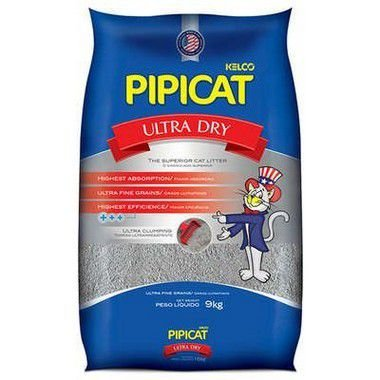 AREIA PIPICAT ULTRA DRY 9 KG