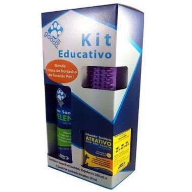KIT EDUCATIVO GOOD PET PARA CÃES
