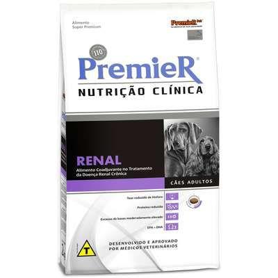 PREMIER NUTRIÇÃO CLINICA RENAL CÃES 10,1 KG