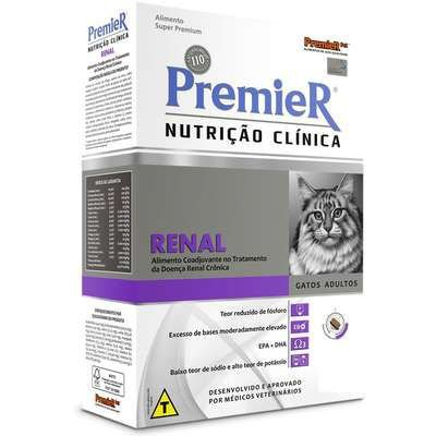 RAÇÃO PREMIER NUTRIÇÃO CLINICA RENAL GATOS 1,5 KG
