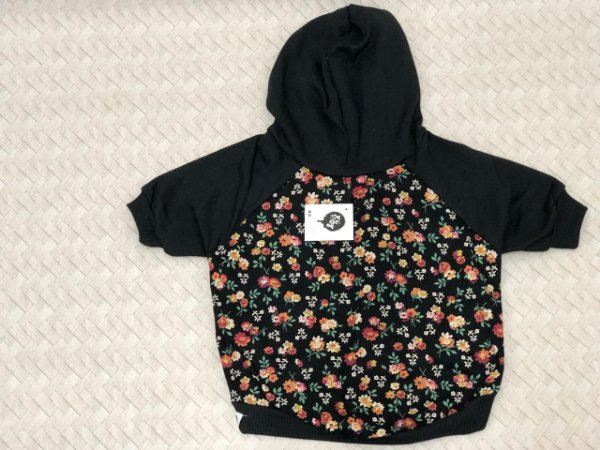 MOLETOM FLORAL YO DOG PP