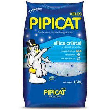 AREIA PIPICAT SÍLICA CRISTAL 1,6 KG