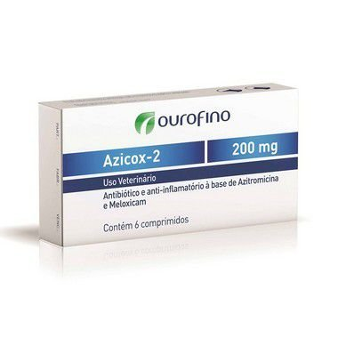 AZICOX-2 200 MG COM 6 COMPRIMIDOS