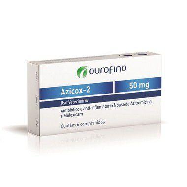 AZICOX-2 50 MG COM 6 COMPRIMIDOS