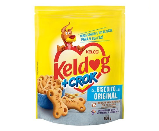 BISCOITO KELDOG + CROK ORIGINAL 900G
