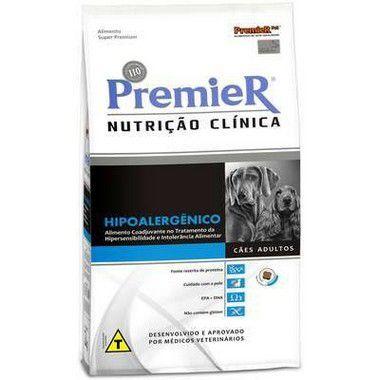 RAÇÃO PREMIER NUTRIÇÃO CLINICA CÃES HIPOALERGÊNICO 10,1 KG