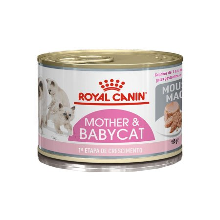 PATÊ ROYAL MOTHER & BABY CAT 195G
