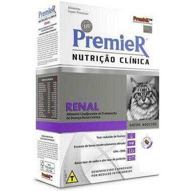 RAÇÃO PREMIER NUTRIÇÃO CLINICA GATOS RENAL 1,5KG