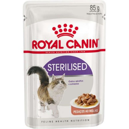 SACHÊ ROYAL CANIN STERILISED  85GR