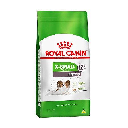 RAÇÃO ROYAL CANIN X-SMALL AGEING CÃES ACIMA DE 12 ANOS 1KG