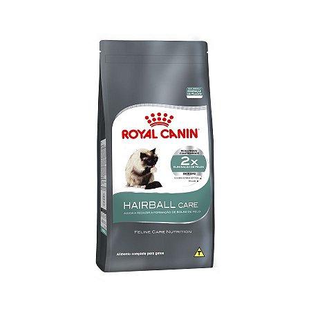 RAÇÃO ROYAL CANIN HAIRBALL CARE GATOS ADULTOS 1,5KG
