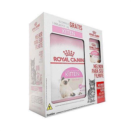 RAÇÃO ROYAL CANIN KITTEN COMBO GATOS FILHOTES 1,5KG
