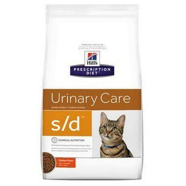 RAÇÃO HILLS PRESCRIPTION DIET URINARY CARE GATOS S/D 1,8KG