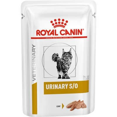 SACHÊ ROYAL CANIN VETERINARY URINARY S/O GATOS 85G