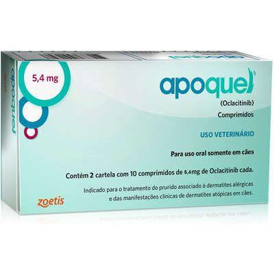 APOQUEL 5.4 MG CAIXA COM 20 COMPRIMIDOS