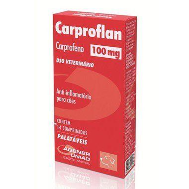 CARPROFLAN 100 MG CAIXA COM 14 COMPRIMIDOS