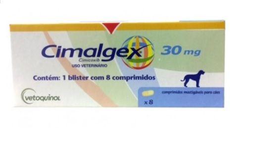 CIMALGEX 30MG - CAIXA COM 8 COMPRIMIDOS