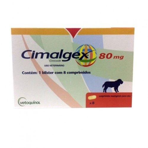 CIMALGEX 80MG - CAIXA COM 8 COMPRIMIDOS