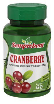 Cranberry 500mg 60 cápsulas