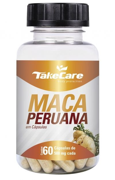 Maca Peruana 500 mg 60 cápsulas