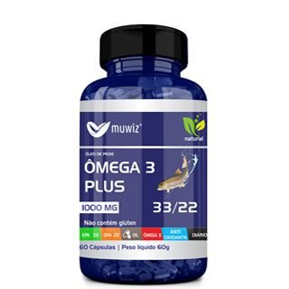 ÔMEGA 3 PLUS 33/22 60CÁPS 1000MG