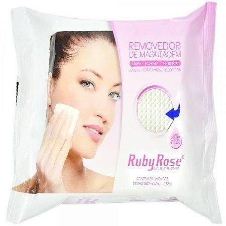 Ruby Rose Removedor de Maquiagem 25 Uni. 155g HB-200