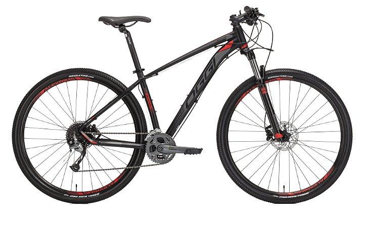 Bicicleta Aro 29 OGGI Big Wheel 7.1 2019 27V Preto/Vermelho