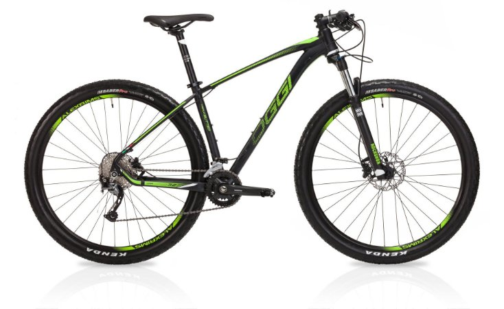 Bicicleta Aro 29 OGGI Big Wheel 7.2 2019 18V Preto/Verde
