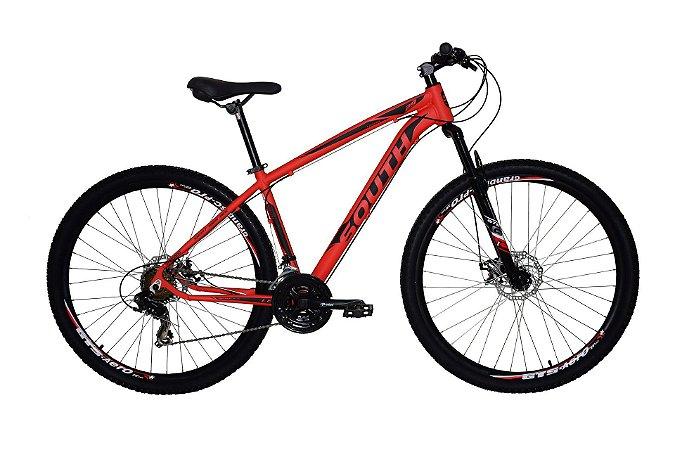 Bicicleta Aro 29 South Legend 2019 21V Vermelho
