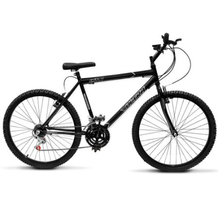 Bicicleta Aro 26 Ultra Technology 18V Preto