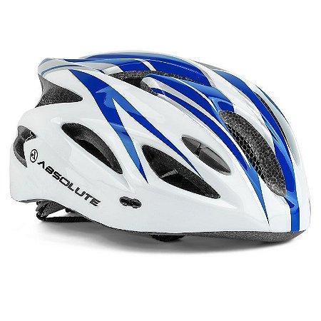 Capacete Absolute WT12 M/G Branco/Azul