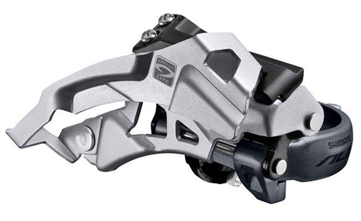 Câmbio Dianteiro Shimano Alivio M4000 3x9V Dual Pull