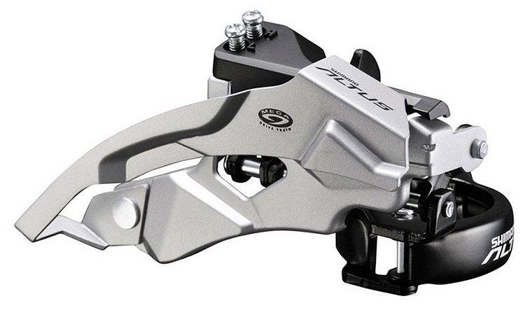 Câmbio Dianteiro Shimano Altus M370 3x9V Dual Pull