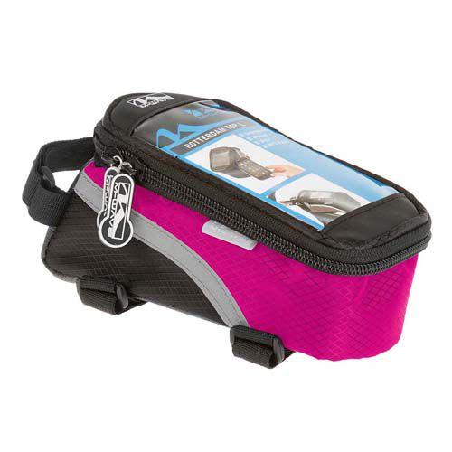 Bolsa de Quadro Smartphone M-Wave Preto/Rosa