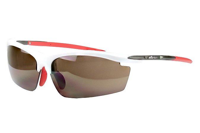 Óculos Ciclista Elleven Blade Branco 2 Lentes