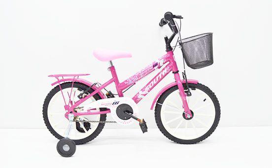Bicicleta Aro 16 South Bike Ceci Rosa
