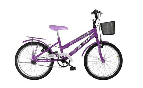 Bicicleta Aro 20 South Bike Ceci Violeta