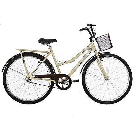 Bicicleta Aro 26 Ultra Vintage Line Bege/Marrom