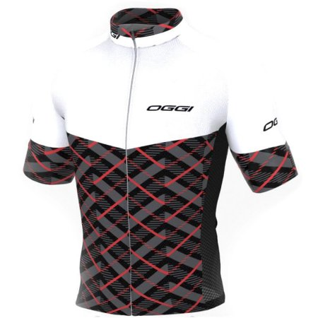 Camisa Oggi Elite Agile Branco/Preto/Vermelho