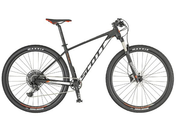 Bicicleta Aro 29 Scott Scale 980 2019 12V Eagle Preto/Branco